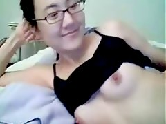 Nerd Amateur Hairy Asian Camwhore