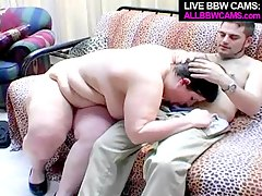 american bbw blowjob fat cum sucking