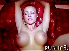 Big fake tits amateur gets paid for sex and jizzed on