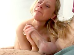 Sweet slutty blonde whore wants to fuck big hard dicks