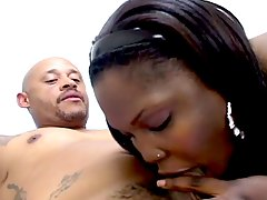 Super big beautiful black woman gets fat pussy drilled