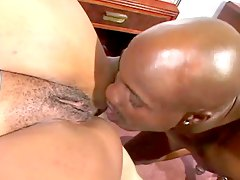 Ebony nurse arrives on emergency and gives cock treatment