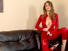 sweet little devil emily is horny and she masturbates Emily Addison